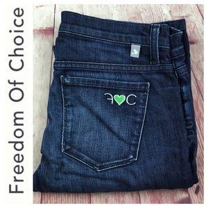 💸Freedom of Choice 5 pocket denim Jean size 27